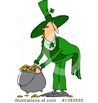 Leprechaun Clipart #1383593 by djart