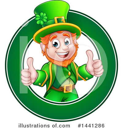 Leprechaun Clipart #1441286 by AtStockIllustration