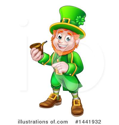 Leprechaun Clipart #1441932 by AtStockIllustration