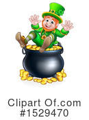 Leprechaun Clipart #1529470 by AtStockIllustration