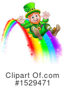 Leprechaun Clipart #1529471 by AtStockIllustration