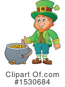 Leprechaun Clipart #1530684 by visekart