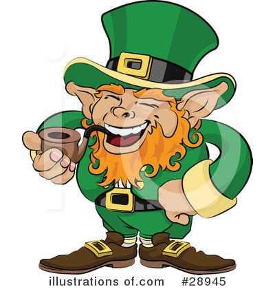 Leprechaun Clipart #28945 by AtStockIllustration