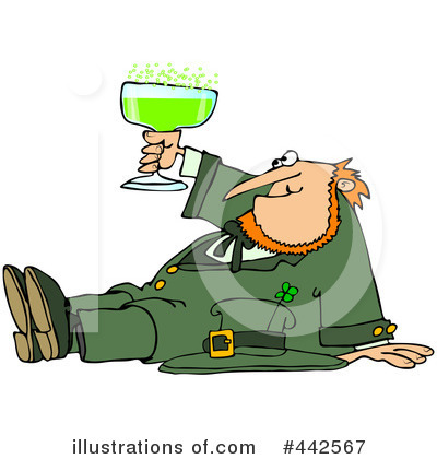 Leprechaun Clipart #442567 by djart