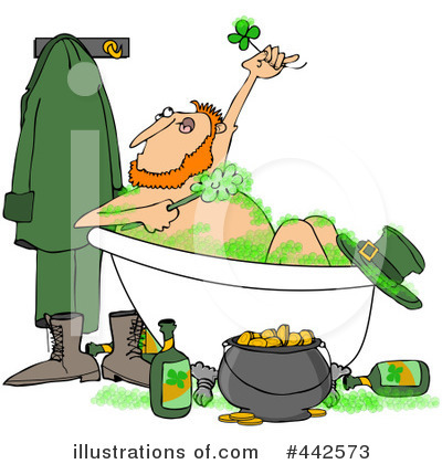 Leprechaun Clipart #442573 by djart
