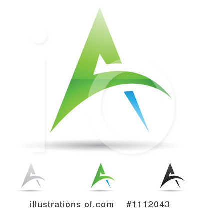 Letter A Clipart #1112043 by cidepix