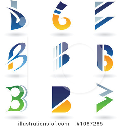 Letter Logo Clipart #1067265 by cidepix