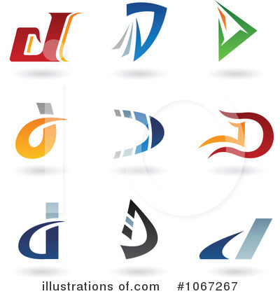 Letter Logo Clipart #1067267 by cidepix