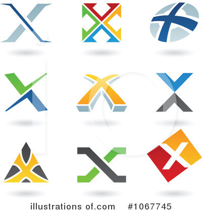Letter X Clipart #1067745 by cidepix