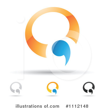Royalty-Free (RF) Letter Q Clipart Illustration by cidepix - Stock Sample #1112148