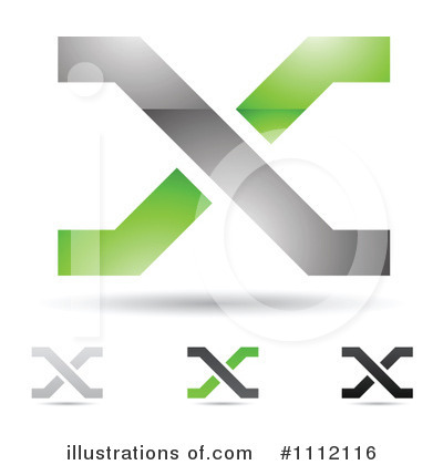 Letter X Clipart #1112116 by cidepix