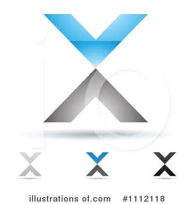 Letter X Clipart #1112118 by cidepix