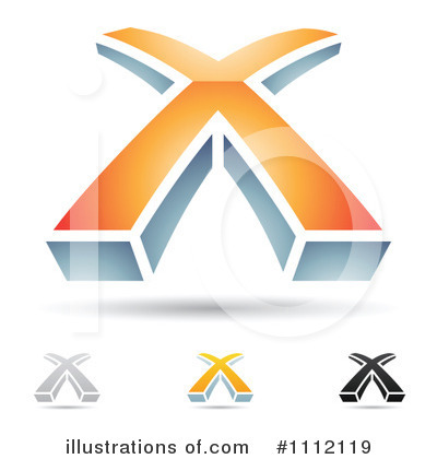 Letter X Clipart #1112119 by cidepix