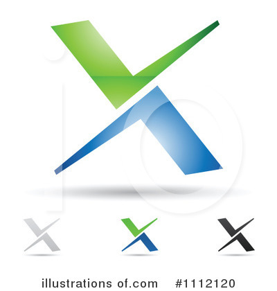 Letter X Clipart #1112120 by cidepix