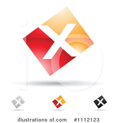 Letter X Clipart #1112123 by cidepix