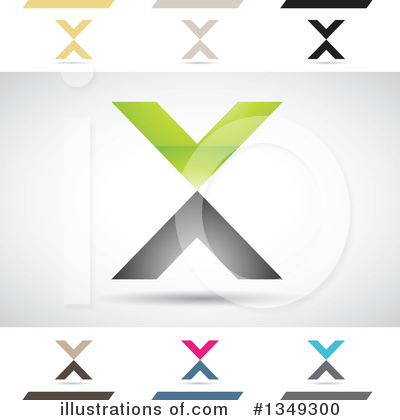 Letter X Clipart #1349300 by cidepix
