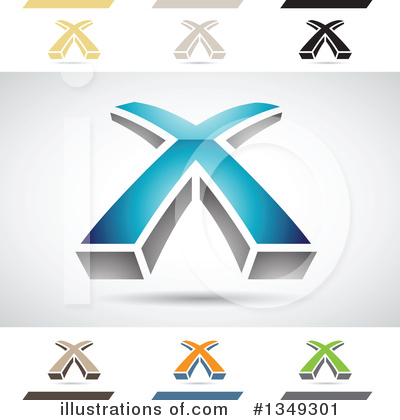 Letter X Clipart #1349301 by cidepix