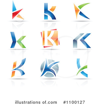 Letter Logo Clipart #1100127 by cidepix