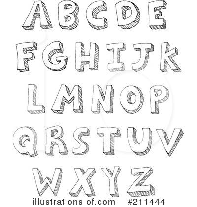 letters clipart 211444 illustration by yayayoyo rh illustrationsof com free clipart of letter j free clipart letter b