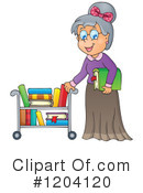 Librarian Clipart #1204120 by visekart