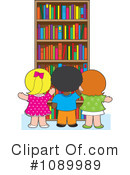Library Clipart #1089989 by Maria Bell