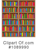 Library Clipart #1089990 by Maria Bell