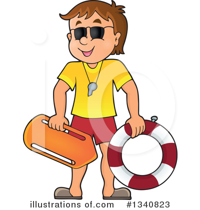 Royalty-Free (RF) Lifeguard Clipart Illustration by visekart - Stock ...