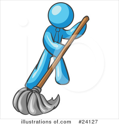 Cleaning Clipart #24127 by Leo Blanchette