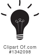 Light Bulb Clipart #1342098 by ColorMagic