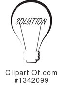 Light Bulb Clipart #1342099 by ColorMagic