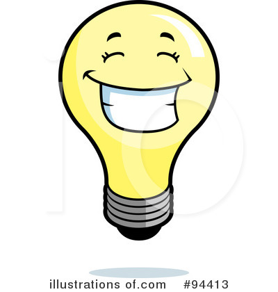 light bulb clipart 94413 illustration by cory thoman rh illustrationsof com led light bulbs clipart light bulb clipart