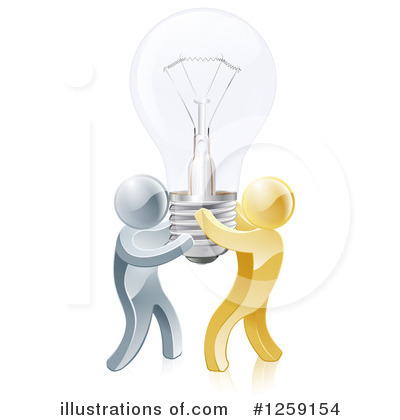 Teamwork Clipart #1259154 by AtStockIllustration