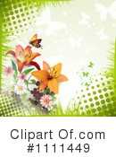 Lilies Clipart #1111449 by merlinul