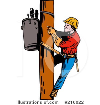 lineman clipart 216022 illustration by patrimonio rh illustrationsof com free lineman clipart free lineman clipart