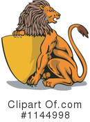 Lion Clipart #1144998 by patrimonio