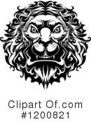 Lion Clipart #1200821 by Vector Tradition SM