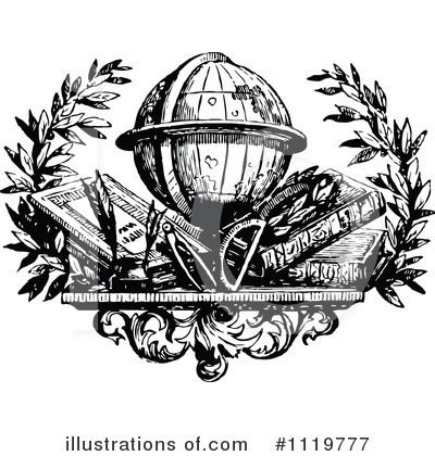 Reading Clipart #1119777 by Prawny Vintage