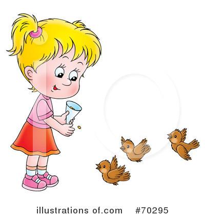 Feed The Birds Clipart 1057143 Illustration By Alex Bannykh