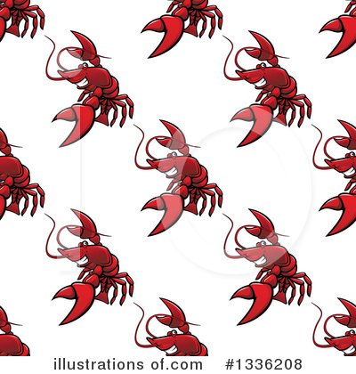 Lobster Clipart #1336208 by Vector Tradition SM