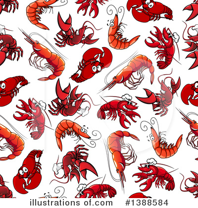 Lobster Clipart #1388584 by Vector Tradition SM