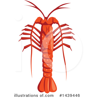 Royalty-Free (RF) Lobster Clipart Illustration by Vector Tradition SM - Stock Sample #1439446
