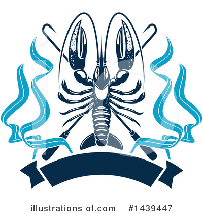 Lobster Clipart #1439447 by Vector Tradition SM