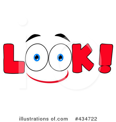 look clipart 434722 illustration by hit toon rh illustrationsof com look clipart eyes look clipart black and white