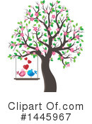 Love Birds Clipart #1445967 by visekart