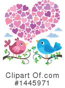 Love Birds Clipart #1445971 by visekart