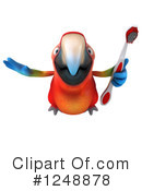 Macaw Clipart #1248878 by Julos