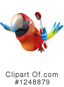 Macaw Clipart #1248879 by Julos