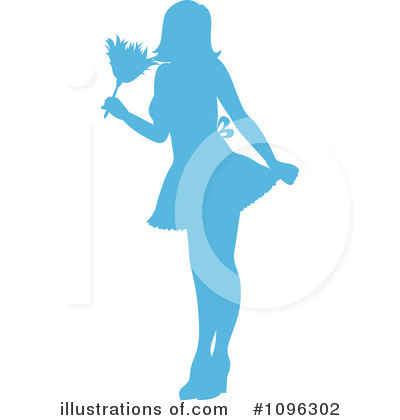 Dusting Clipart #1096302 by Pams Clipart