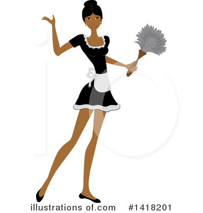 Dusting Clipart #1418201 by Pams Clipart