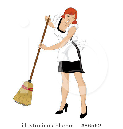 Maid Clipart #86562 - Illustration by Pams Clipart
